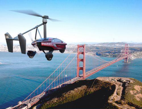 Das erste fliegende Auto kommt 2018